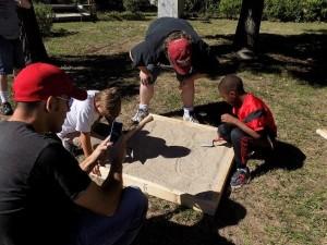 Archeology Field Day, Gardner Historical Museum, Gardner KS