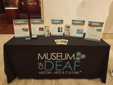 Museum booth / promotions